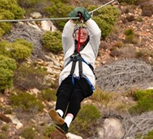 85-year old zip-lining Granny!