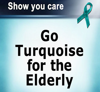 Go Turquoise For The Elderly
