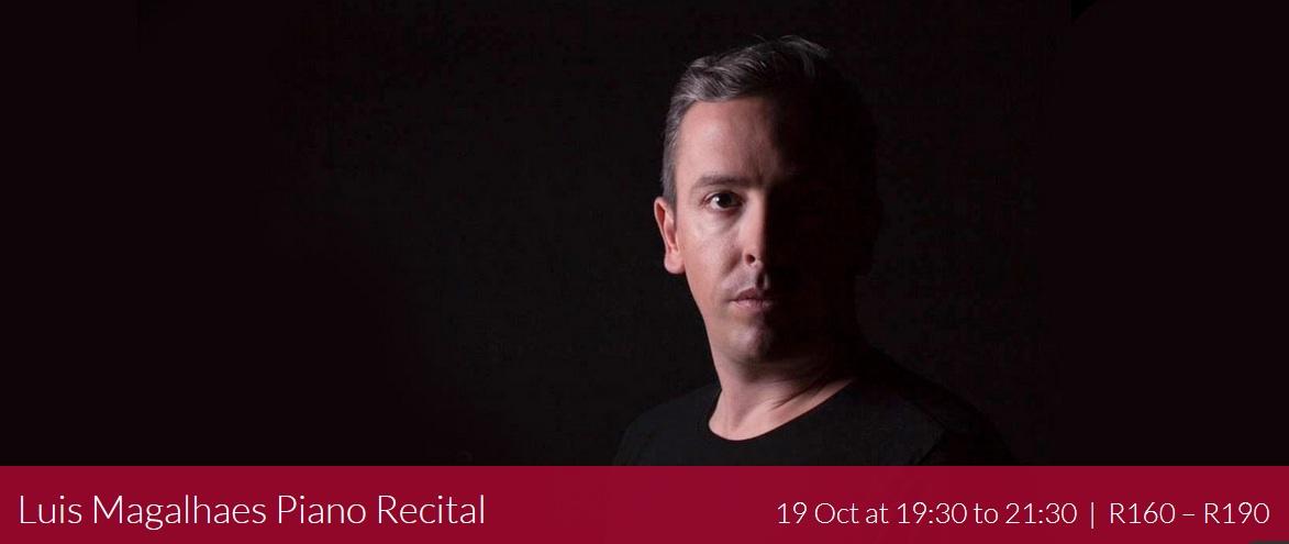 Luis Magalhães Piano recital