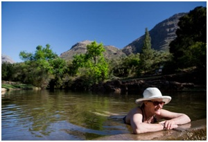 Swimming in the Cederberg
