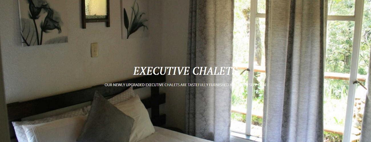 Executive accommodation at Sabi Star Chalets