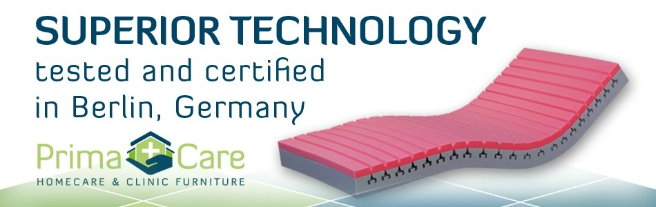 Superior bed technology by Primacare