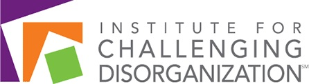Logo for the Institute for challenging disorganization
