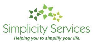 Logo for Simplicity Services