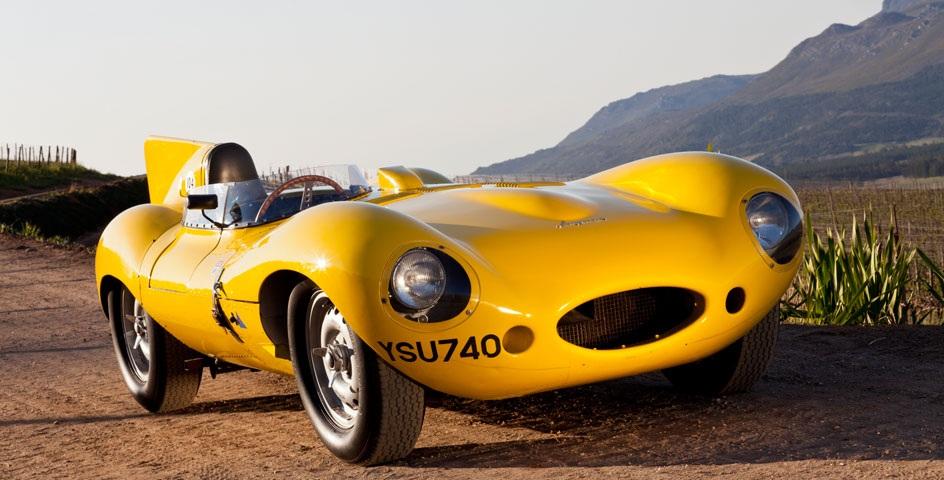 Franschhoek-Motor-Museum-yellow-car