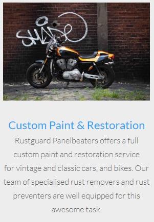 Rustguard custom paint and restoration