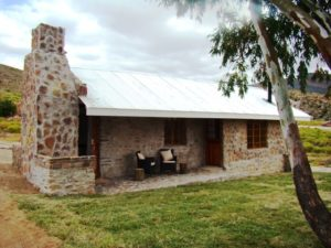 One of the cottages at Mount Cedar, Cederburg Accommodation