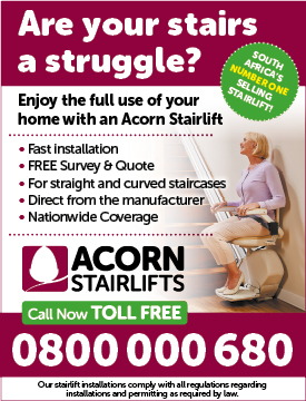 Acorn Stairlifts – Adspace C – Healthcare – April 2016