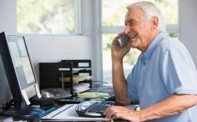 senior male entrepreneur