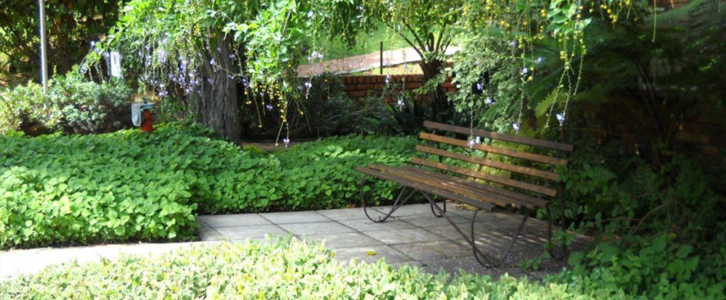 Flower foundation garden