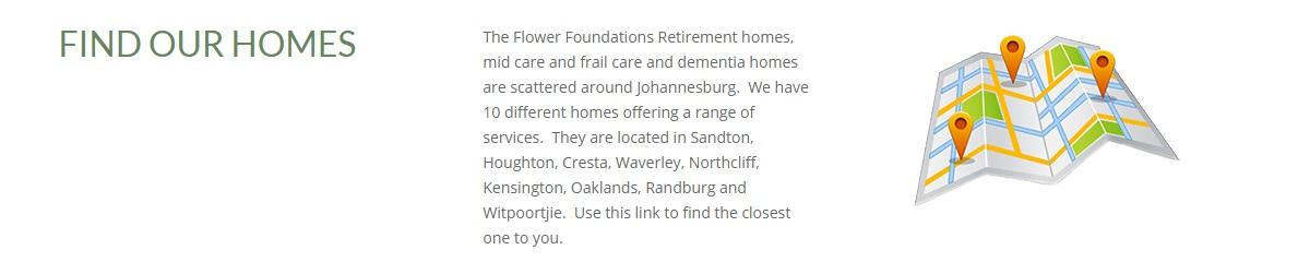 Flower foundation homes in jhb