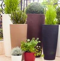 Pots from Plastics Emporium