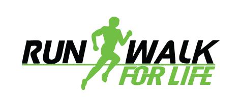 Run/Walk For Life logo