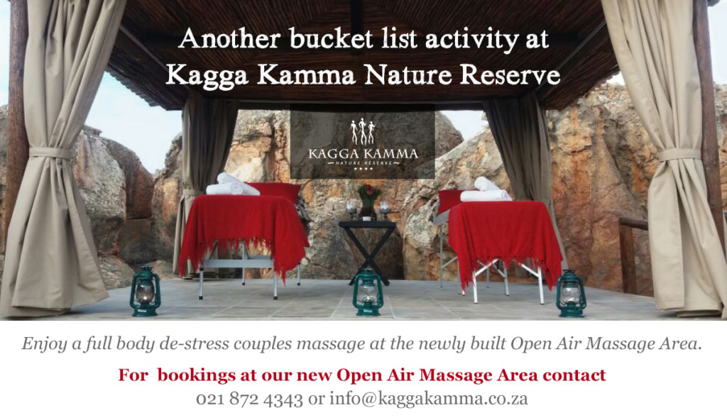 Kagga Kamma - bucket list activity