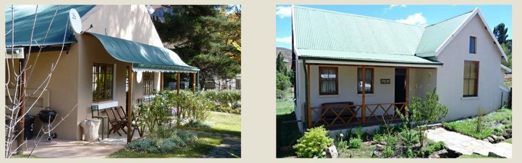 Different accommodation options at Walkerbouts Country Retreat & Pub