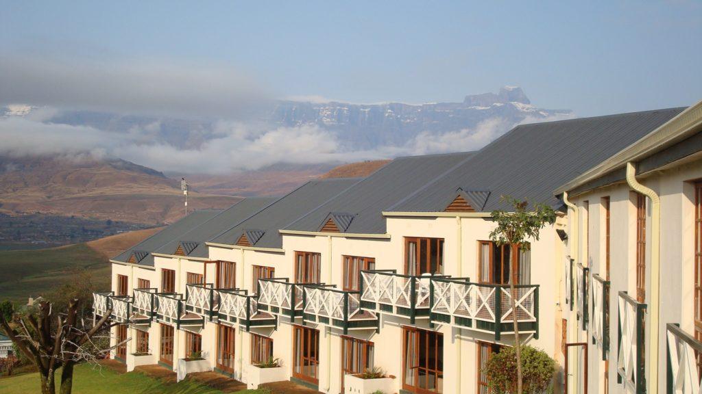 Mont Aux Sources view