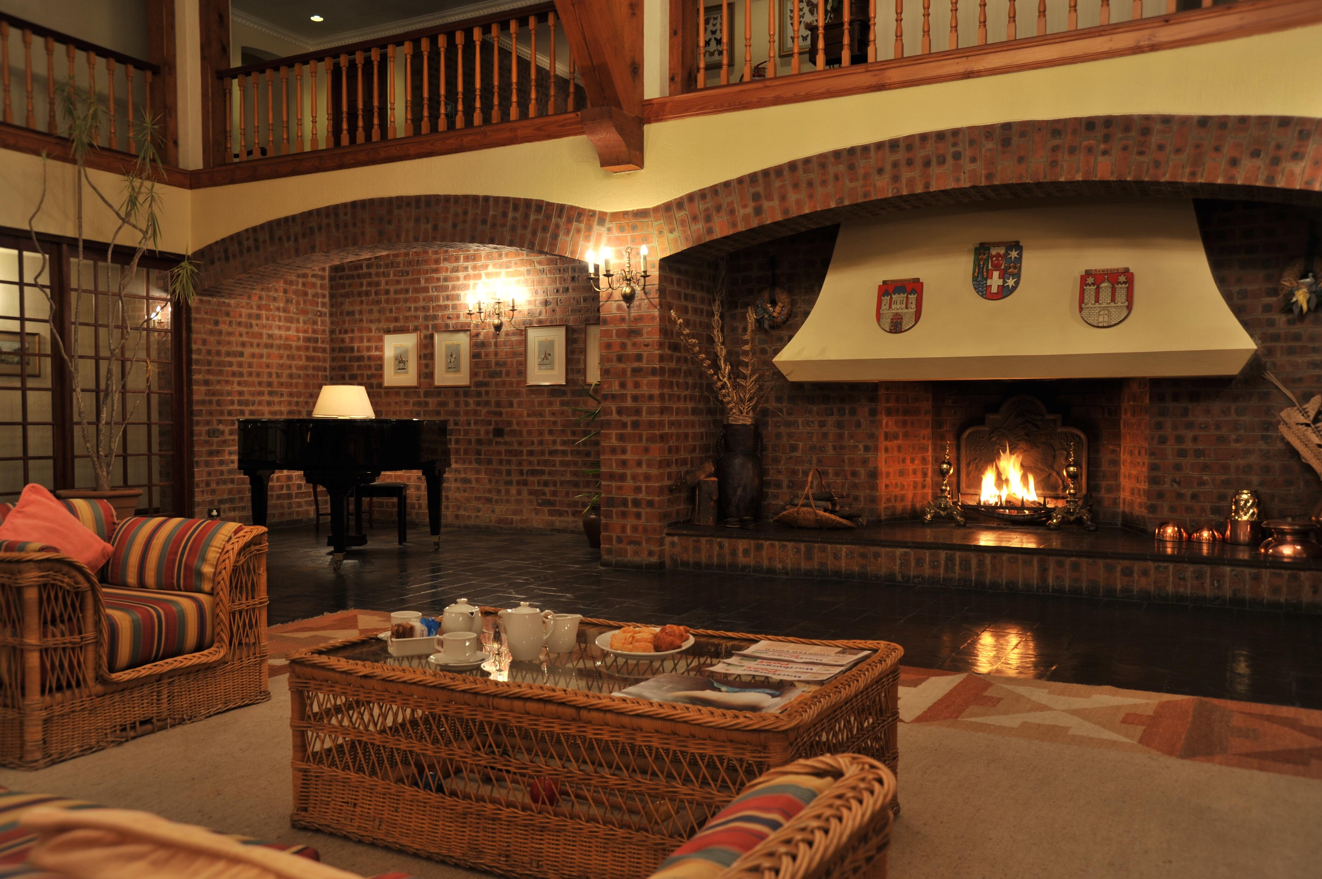 Wartburger Hof hotel foyer