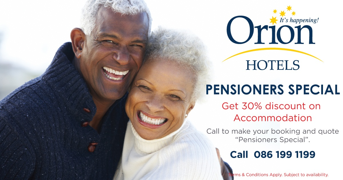Orion Hotels Pensioners specials