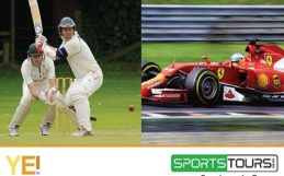 Sports tours and YEI branded image