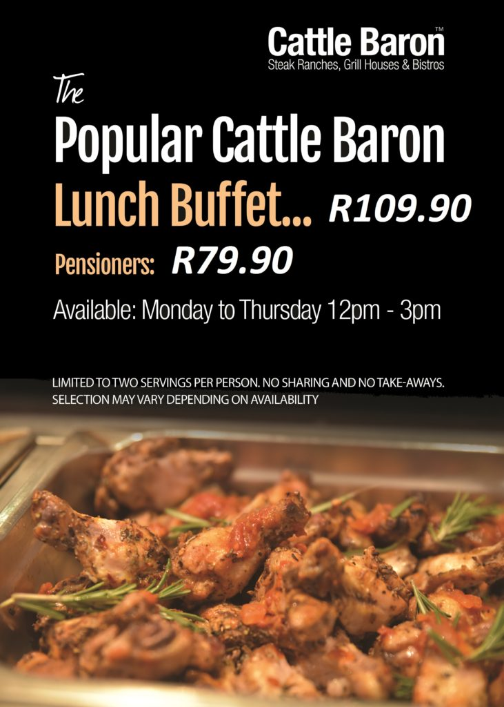 Cattle Baron buffet poster