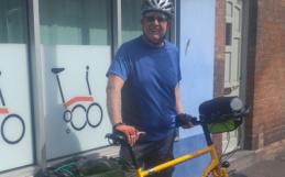 elred and his bike