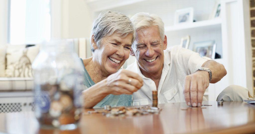senior and savings