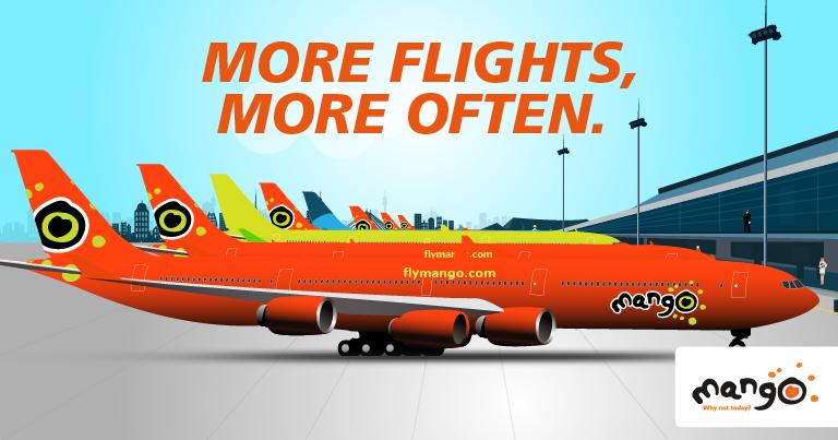 Mango - more flights