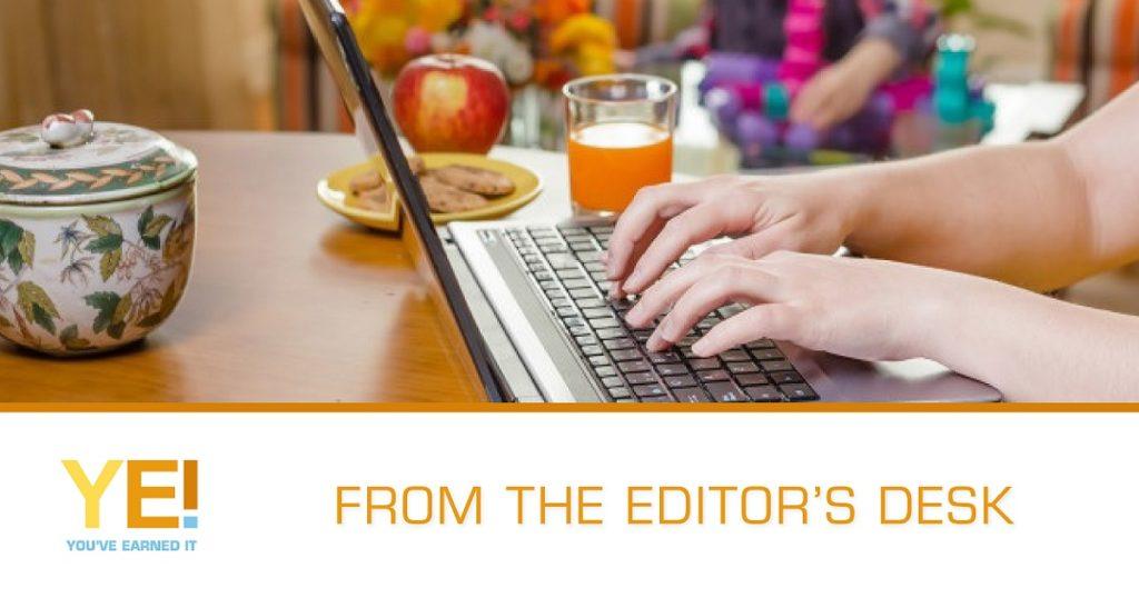 Editors desk
