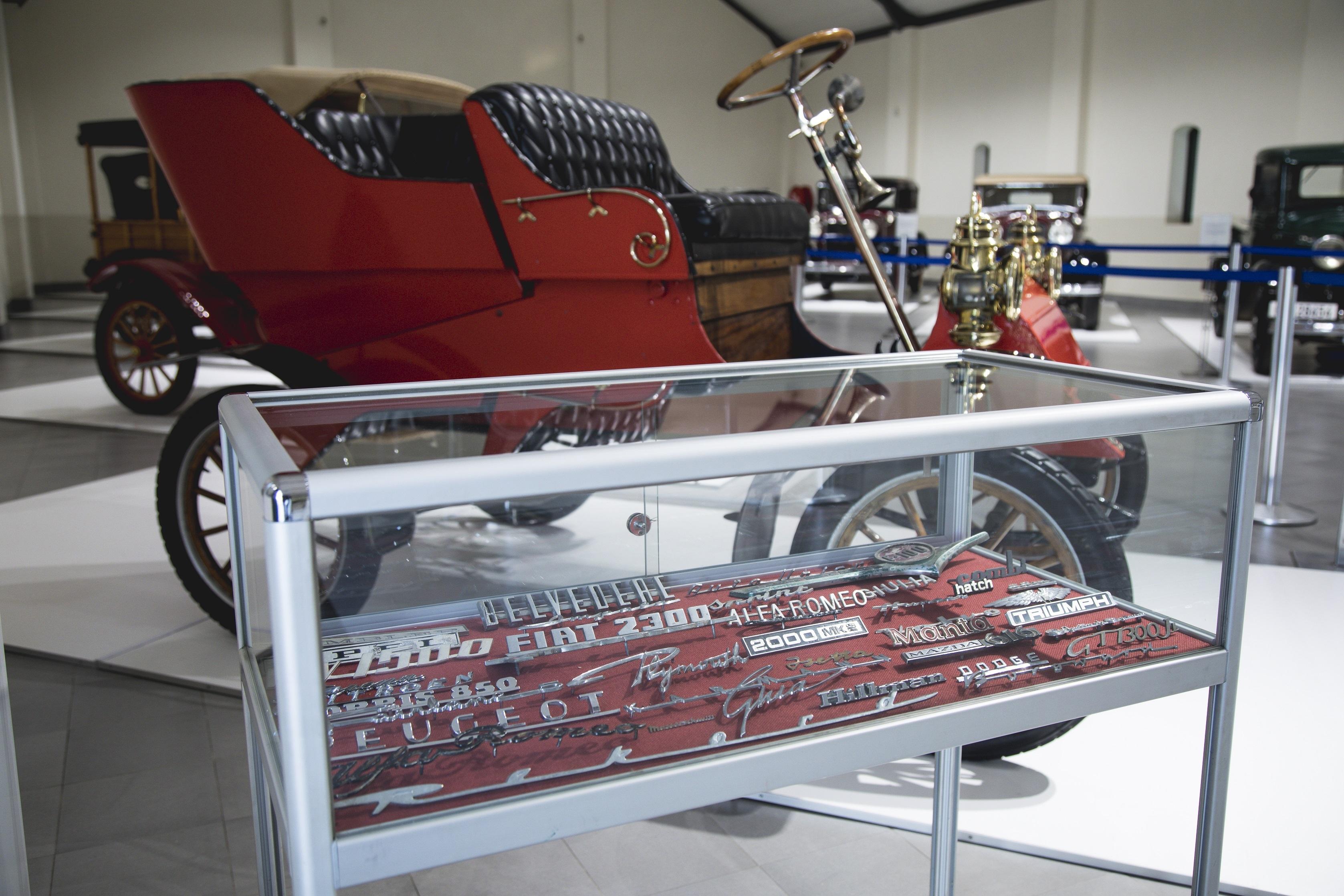 Inside of Motor museum