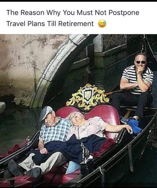seniors in a gondola