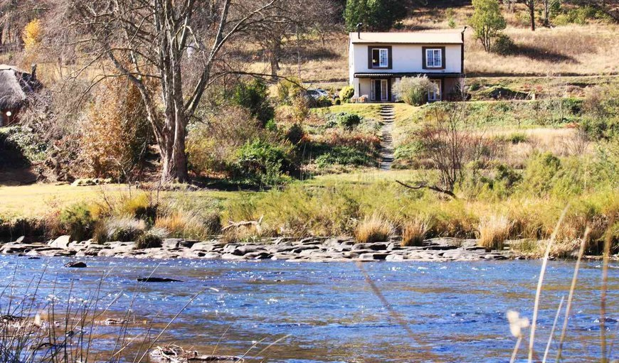 Cottage on the banks of the Umzimkulu River