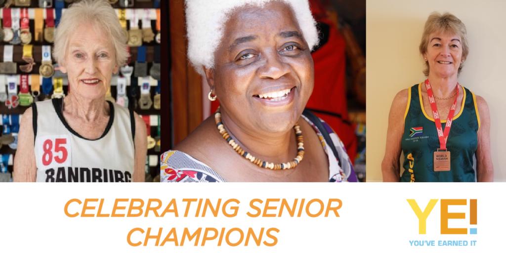 Celebrating senior champions