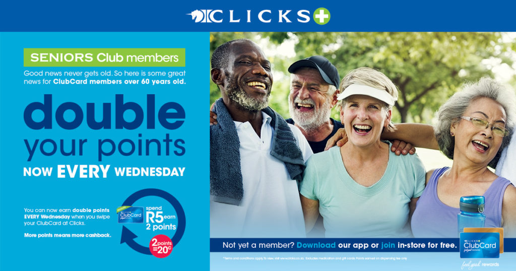 Clicks seniors only campaign