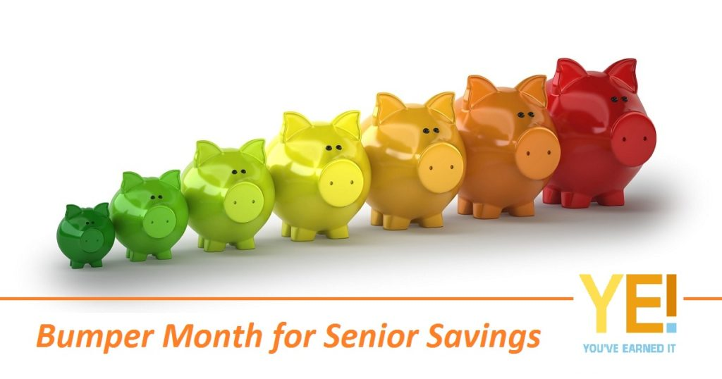 Bumper month of savings
