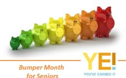 Bumper month for seniors