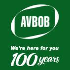 AVBOB logo 100 years