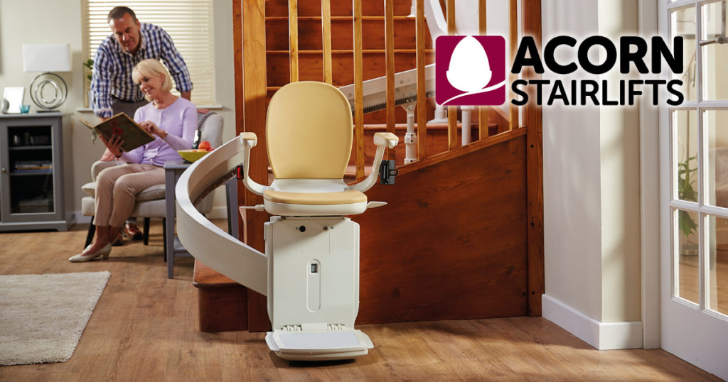 Regain your freedom - Acorn Stairlifts