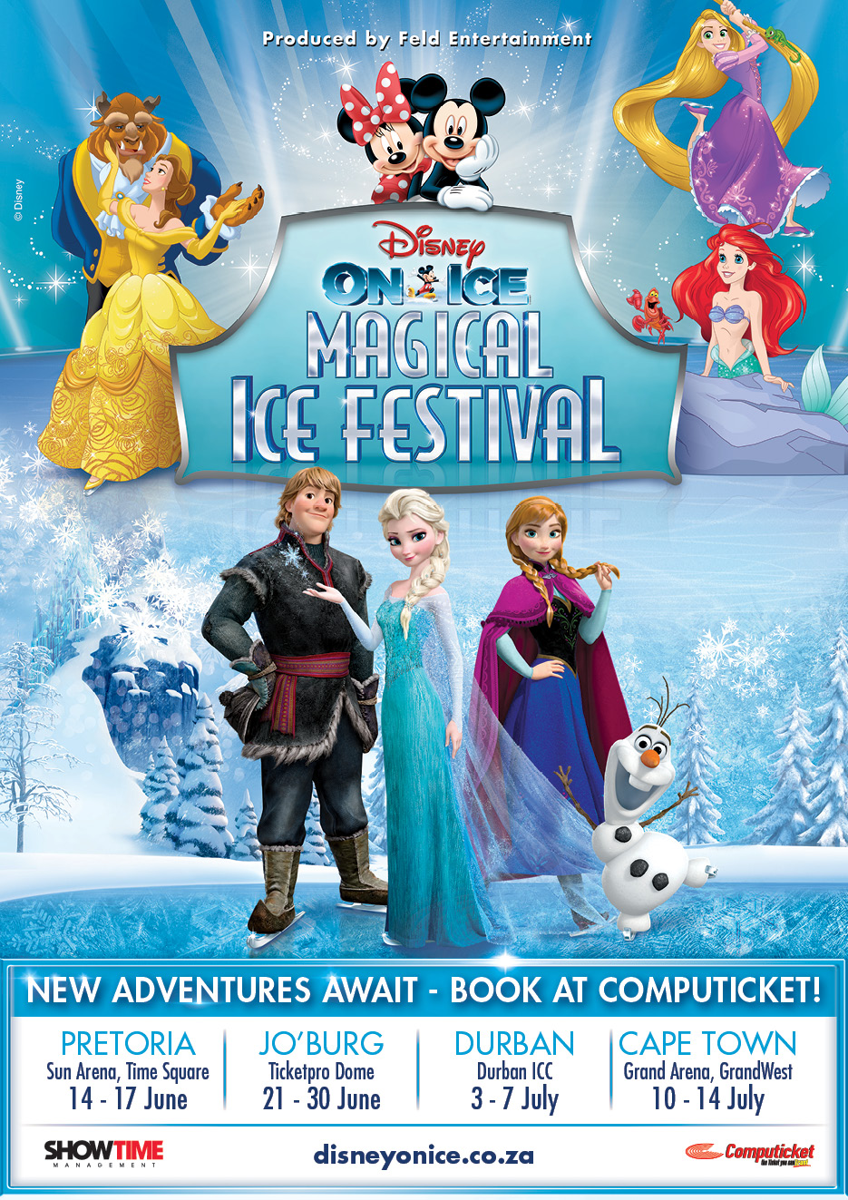 Disney On Ice Flyer