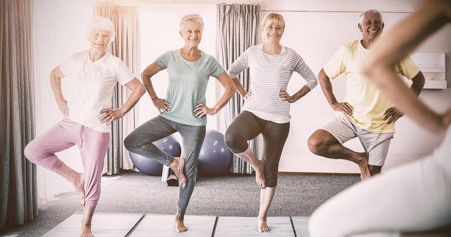 seniors and balance
