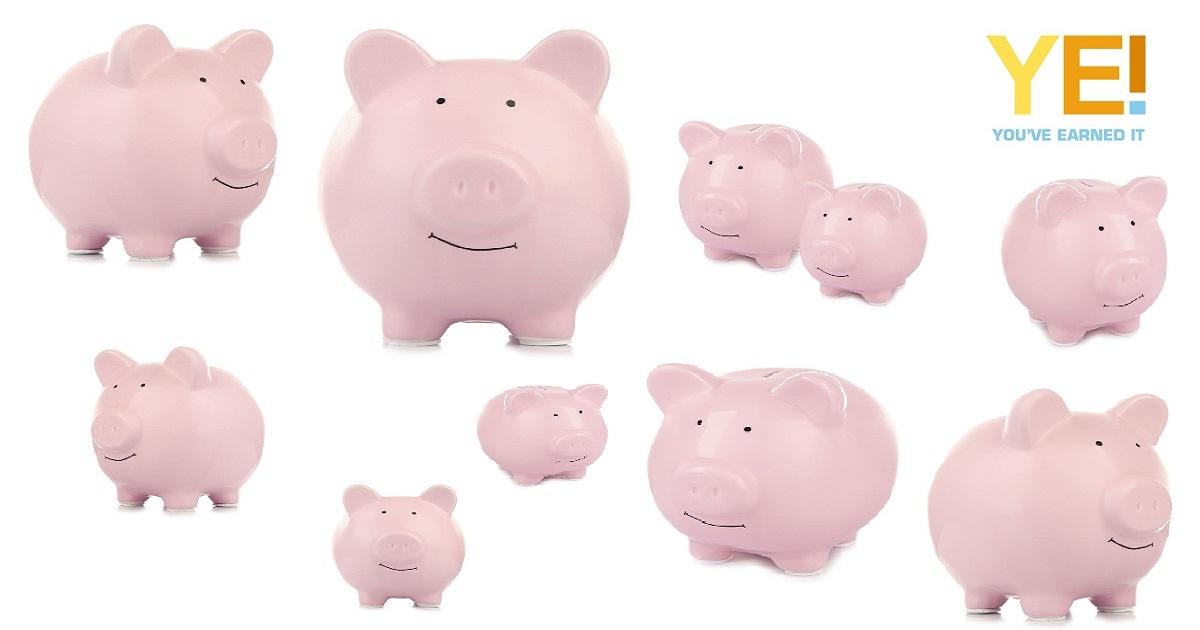 10 savings pigs