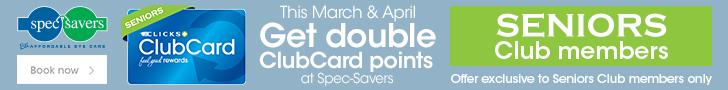 Clicks Spec-savers campaign