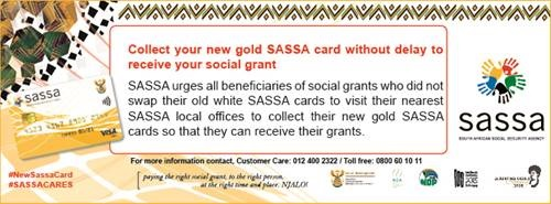 SASSA card - collect