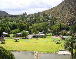 Montagu springs aerial view
