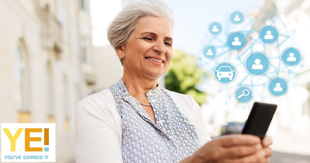 Senior and app based taxi service