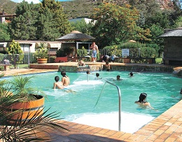 Swimming pool at Montagu springs