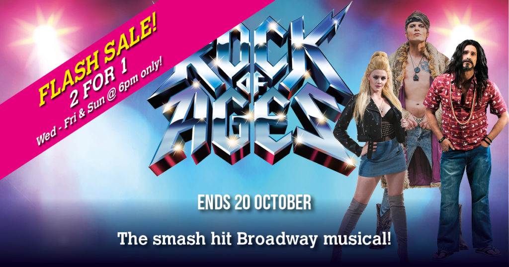 Rock of Ages 2 for 1