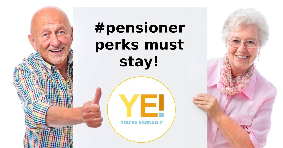 pensioner perks must stay