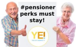 pensioner perks must stay