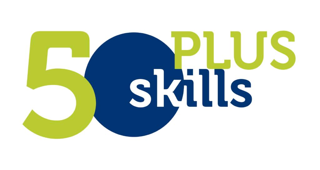 50 Plus Skills logo