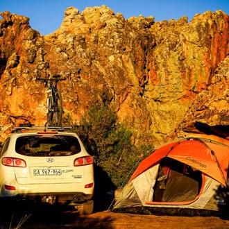 camping at Kagga Kamma